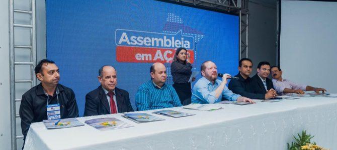 TRIZIDELA DO VALE: Terceira edição do Assembleia em Ação reúne classe política e população da região do Médio Mearim