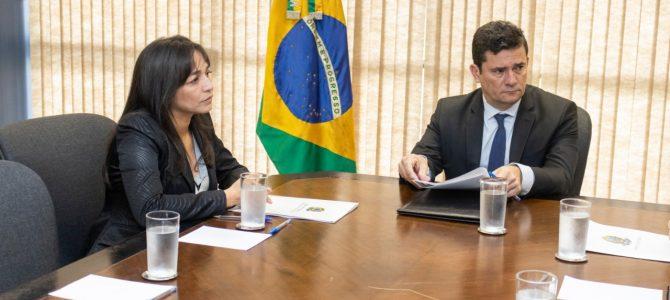 BRASÍLIA: Eliziane se reúne com Sérgio Moro para discutir situação dos povos indígenas