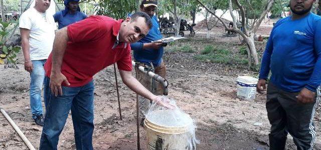 CODÓ: Superintendente Pedro Belo realiza inspeção técnica no Programa Água Doce na zona rural da cidade