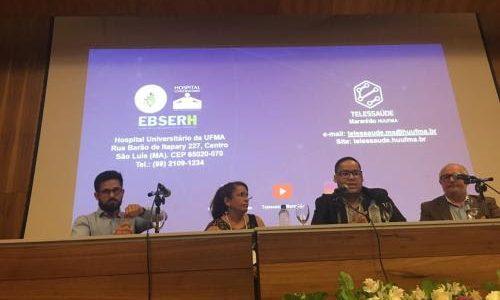 HU-UFMA: Superintendente ministra palestra em evento Internacional de Tecnologia na USP