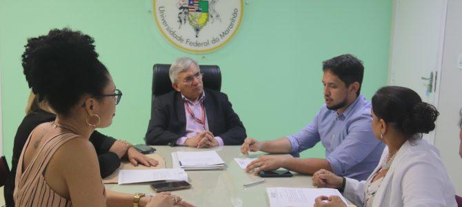 PARCERIA: UFMA e SECMA dialogam para fomentar projetos culturais