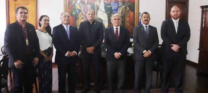 UFMA: Reitor Natalino se reúne com presidente do TJ-MA e debate sobre projetos de sustentabilidade