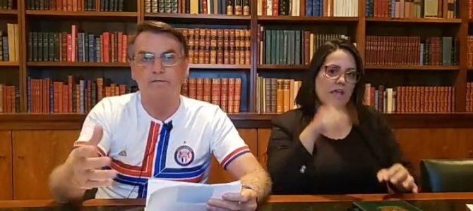 DEMOCRACIA EM RISCO: Atacada por presidente, jornalista desmente Jair Bolsonaro