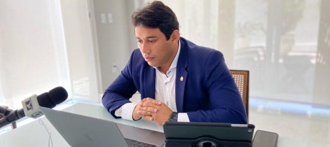 ATUANTE: Presidente Osmar Filho convoca nova sessão remota da Câmara Municipal de São Luís