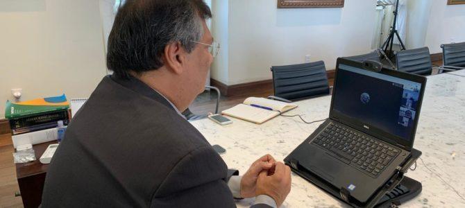 MARANHÃO: Flávio Dino acompanha Comitê Científico de Combate ao Coronavírus, que defende medidas restritivas