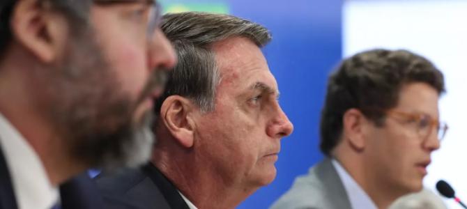 EFEITO DOMINÓ: Ricardo Salles e Ernesto Araújo podem ser demitidos por Bolsonaro