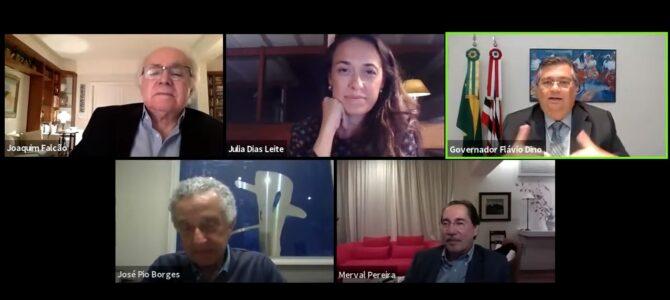 """MARANHÃO: Flávio Dino afirma que """"atual política externa brasileira não tem ponderação"""""""