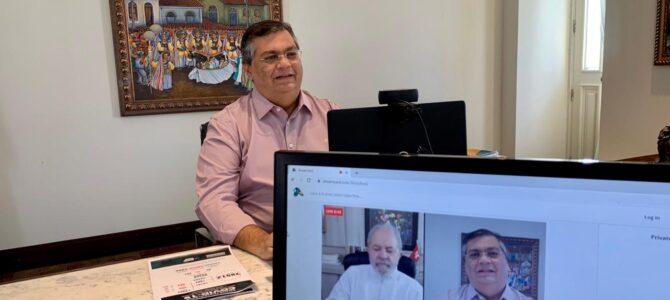 DIÁLOGO COM LULA: Flávio Dino defende dinheiro 'direto na conta' dos pequenos empresários