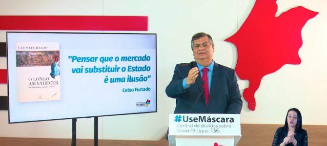 """NO VERMELHO TOTAL! Flávio Dino critica que """"primeiro trilhão de Bolsonaro é de déficit"""""""