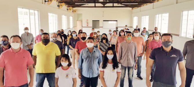 EDUCAÇÃO: Márcio Jerry participa da entrega de Escola Digna no Maiobão, em Paço do Lumiar