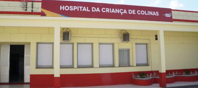 COLINAS: Após destinar emenda, Márcio Jerry agradece Flávio Dino por inauguração do Hospital da Criança, no município