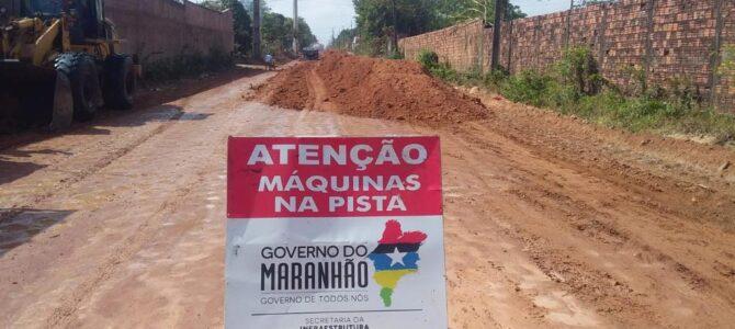 MARANHÃO: Governo investe em vias urbanas de cidades de onze regionais do Estado