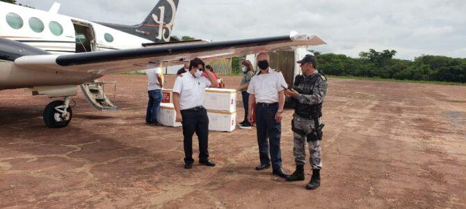 MARANHÃO: Manutenção feita pelo Governo do Estado em aeroportos contribui para a entrega da vacina contra Covid-19