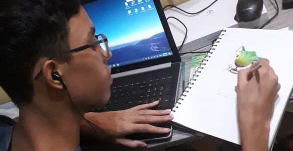 MARANHÃO: Estudante do IEMA é aceito e ganha bolsa parcial para estudar Belas Artes nos Estados Unidos