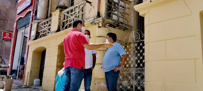 SÃO LUÍS: Secretário Márcio Jerry (Secid) anuncia nova etapa do programa Adote um Casarão