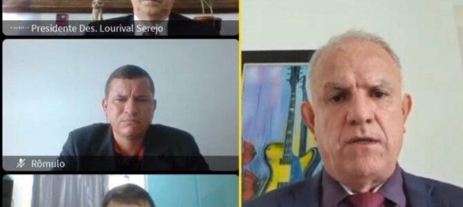 PAUTA SINDICAL: Sindojus/MA reúne com presidente do TJMA para discutir demandas dos oficiais de justiça