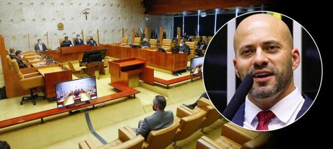 BRASIL: Por unanimidade, STF mantém prisão do deputado federal bolsonarista Daniel Silveira