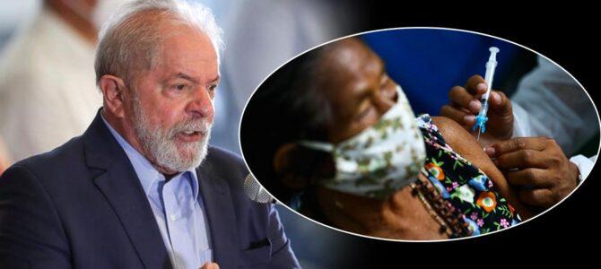 MARANHÃO: Lula destaca, em discurso, atuação de Flávio Dino em prol da vacinação no país