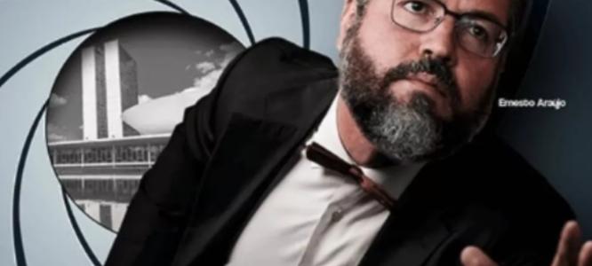 PIOR DIPLOMATA DO MUNDO: Ernesto Araújo é um expoente da estupidez, diz Elio Gaspari
