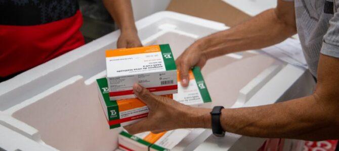 MARANHÃO: Governo do Estado começa a distribuir vacinas do novo lote da CoronaVac