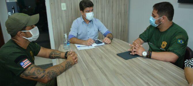 PARCERIA: Prefeito Deoclides anuncia que Porto Franco terá fábrica de bloquetes para calçamento das ruas do município