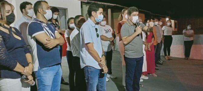 PORTO FRANCO: Prefeito Deoclides entrega Unidade Básica de Saúde (UBS) no feriado do Dia do Trabalhador
