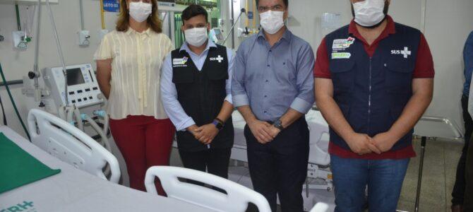 SAÚDE: Prefeitura de Porto Franco entrega leitos de UTI e enfermarias para receber pacientes com Covid-19