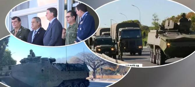 O GOLPISTA: Oficiais da ativa estão descontentes com assédio de Bolsonaro às Forças Armadas